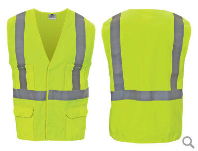 Inconnu Yellow Reflective Safety Vest This EN-471 T//XL Single