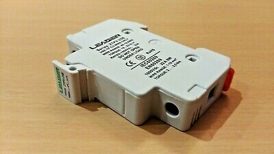 DIN Rail PV Solar Panel Fuse Holder (For 10x38mm fuses) 1000V DC, 30A Max
