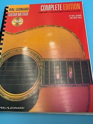 Hal Leonard Guitar Method Complete Edition Books 1, 2, And 3 All CD's Included