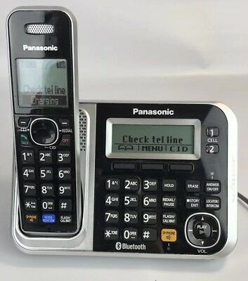 Panasonic KX-TG7871 DECT 6.0  Expandable Digital Cordless System And Extra Phone