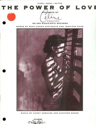 Sheet Music: CELINE DION The Power Of Love