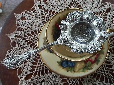 Sterling Silver Tea Strainer Reed and Barton  Francis I
