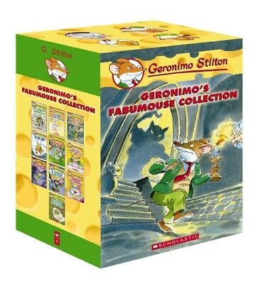 Geronimo Stilton Geronimo's Fabumouse Collection - 10 Book Box Set