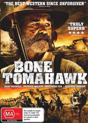 Bone Tomahawk - Kurt Russell - New & Sealed Region 4 Dvd