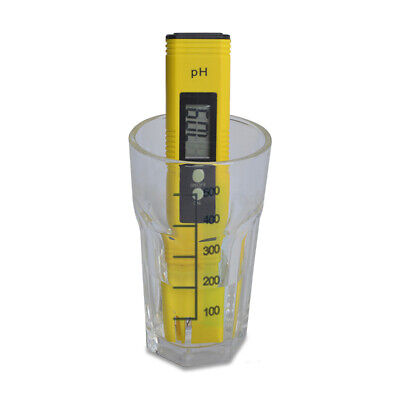 PH Meter 0.01 PH High Accuracy Water Quality Tester with 0-14 PH Measure DE