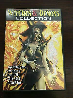 BRAND NEW - Witches  Demons Collection (DVD, 2005, 2-Disc Set) - FACTORY SEALED