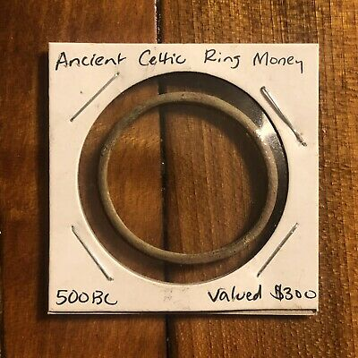 RARE Celtic Ring Money Proto Coin From 800 BC Artifact Valued $300 Ancient