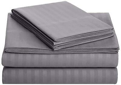 1800 Count Bamboo Egyptian Cotton Comfort Extra Soft Bed Sheet Set Deep Pocket