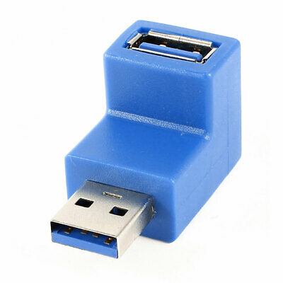 Right Angle USB3.0 AM to AF L Shape Adapter Converter USB 3.0 A Male to A U6Z8