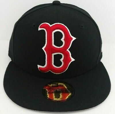 Boston Red Sox MLB/New Era jumbo Logo 59FIFTY Fitted/Cap/Hat/Size 7/NWT