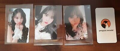 Gfriend - Vol.2 Time For Us Limited Edition Eunha Photo Card 3Ea 1Set