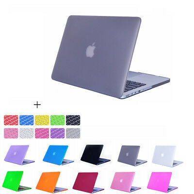 """Ultra-thin Rubberized Hard Case Shell Cover For Macbook Pro 13/15"""" Air 11/13"""""""