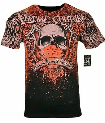 XTREME COUTURE by AFFLICTION Men T-Shirt ORTHODOX Tatto Biker MMA UFC M-4X $40
