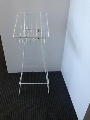 Wire Catalogue Brochure Basket - 4 available