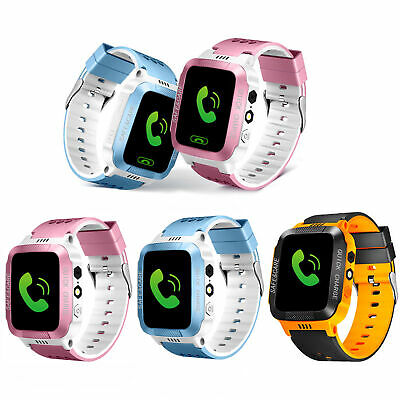 Kids Anti-lost GPS Tracker Smart Watch SOS Call Safe Wristwatch For Android &IOS