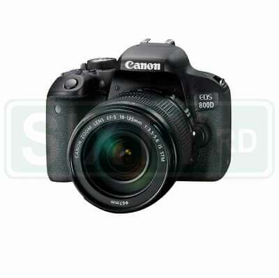 Genuino Canon EOS 800D Kit with EF-S 18-135mm f/3.5-5.6 IS STM