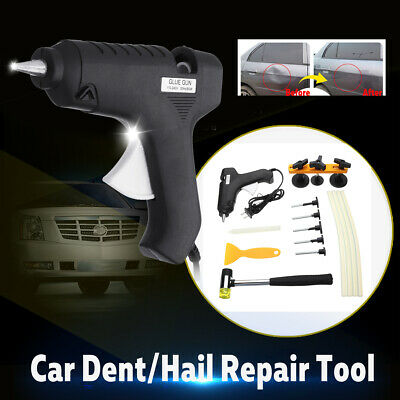Paintless Dent Puller Lifter Repair Tool Dint Hail Damage Remover Rods Kits Car