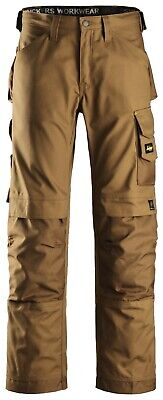 Snicker 3314 3314 Craftsmen Trousers, Canvas+ BROWN