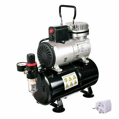 Airbrush Compressor with 3l Tank and Air Fan - The Best Performance Tool for Air