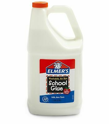 Elmer's Washable School Glue Bottle Gallon Craft All Multi Purpose White Slime