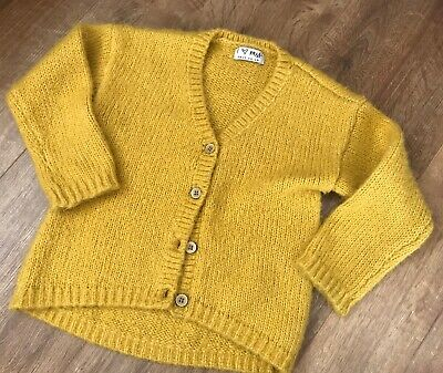Girls Next Mustard Cardigan - Age 18 Months - 2 Years