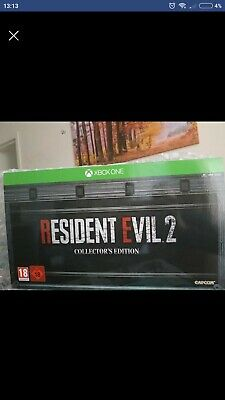 Resident Evil 2 Remake Collector's Edition XBOX ONE Rare
