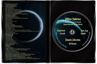 Hilton Hotema 49 Book Collection Set Lot on DVD Occult Health Mystic Metaphysics