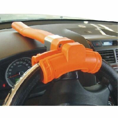 New Flourescent Steering Lock Anti Theft Car Security Baseball Shaped Wheel Car