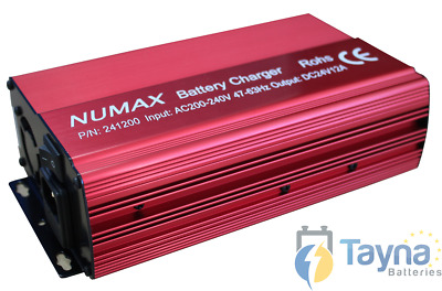 Numax Commercial Batterie Charger 24V 12A - 241200HD