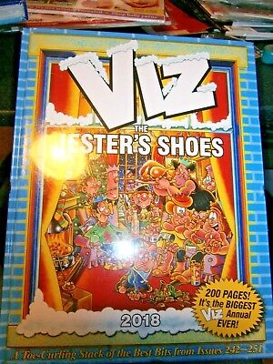 Viz The Annual 2018 The Jester's Shoes (new) 2018