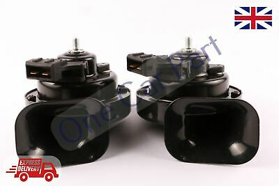 BRAND NEW OSIS Twin Tone Horns WITH SOCKET 2 PIN FOR SEAT TOLEDO 2004-2009
