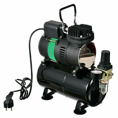 Airbrush Compressor with 3l Tank and 2X Air Fan - The Best Performance Tool
