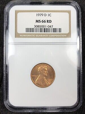 1979 D Ngc Ms66Rd Red Lincoln Memorial Cent **Make An Offer**