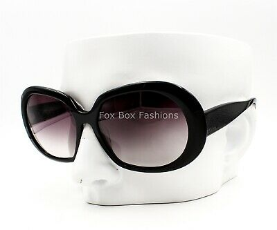 7c4f8185f776 OLIVER PEOPLES Ballerina Sunglasses Gloss Black ~ Violet Gray Gradient ~  59mm
