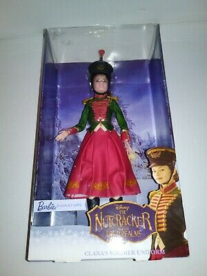 Nutcracker and the Four Realms Clara's Soldier Uniform Barbie Doll NIB