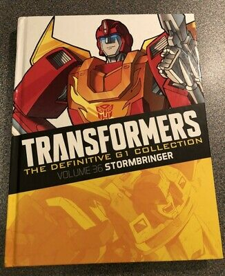 TRANSFORMERS G1 The DEFINITIVE COLLECTION Volume # 36 STORMBRINGER Comic HASBRO