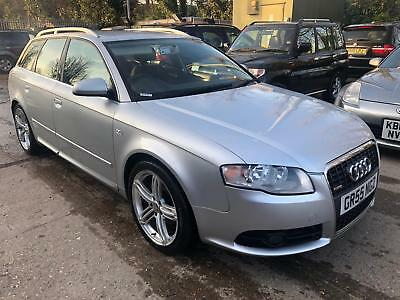 2006 Audi A4 Avant 2.0 Tdi 140 S Line M-T Auto, 9 Stamps, Sendai Stereo, Climate