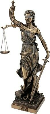 Ancient Greek Goddess Themis / Blind Lady Justice bronze/resin statue 50cm/19.6'