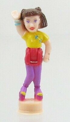 1999 Vintage Polly Pocket Doll Polly & the Pops Concert Hall - Polly