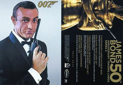 James Bond 50th Anniversary Series 2  PROMO CARD