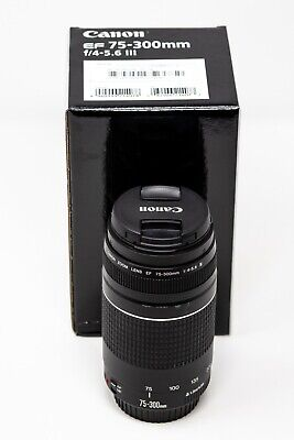 Canon EF 75-300mm f/4-5.6 III Canon Lens