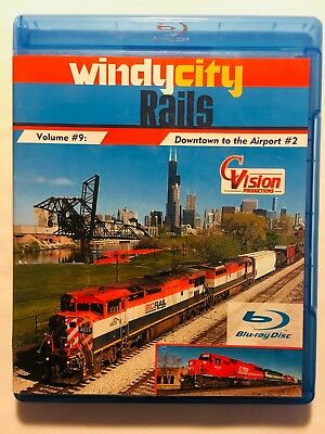 Windy City Rails Vol. 9 (Blu-Ray & DVD, 2016) Downtown Chicago to the Airport #2