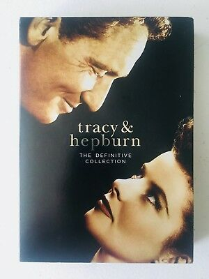 Tracy and Hepburn The Definitive Collection (DVD, 2011, 10-Disc Set) *NEAR MINT*