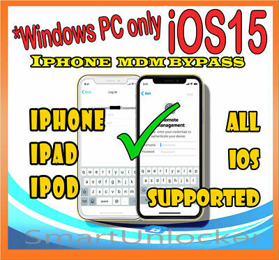 IPHONE IPAD MDM UNLOCK Bypass Apple Remote Management Profile Remove iOS 13.5