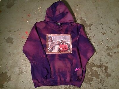 Kids See Ghosts KSG kanye west TLOP Kid Cudi V1 V2 tour merch purple hoodie NEW