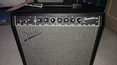 FENDER 40 CHAMPION Guitar Amplifier with foot switch - £100 00