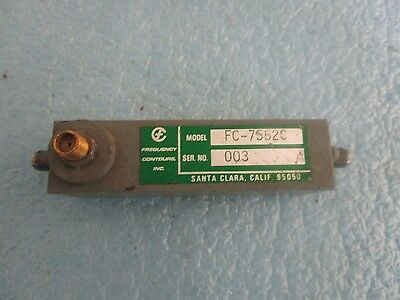 Frequenz Countours Modell: Fc-7552c Band Pass Filter <