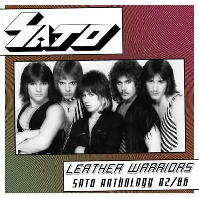 SATO - Leather Warriors - Sato Anthology 82/86' CD+DVD (NEW*US METAL*QUEENSRYCHE