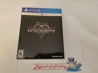 NEW * Kingdom Hearts HD II.8 2.8 Final Chapter Prologue Limited Edition  PS4