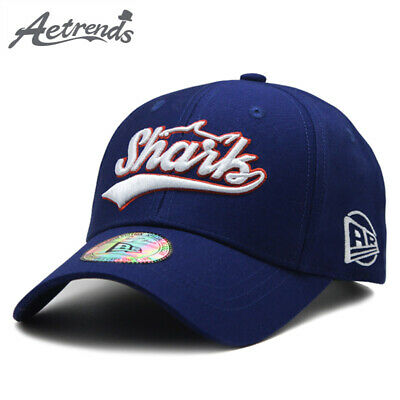 [AETRENDS] 2018 High Quality Pure Cotton Letters Embroidery Baseball Cap Men